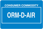 Other Regulated Material ORM-D-AIR
