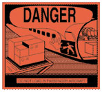 Packing Danger - Do Not Load In Passenger Aircraft