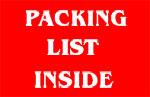 Packing Packing Slip Inside
