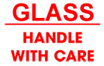 Packing Glass Handle With Care