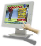 Tatung LCD Touch Monitor