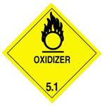 Warning Oxidizer