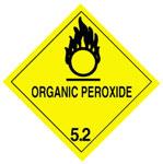 Warning Organic Peroxide