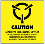 Warning Caution - Sensitive Electronic Devices