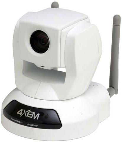 4XEM IPCAMWLPTZ Surveillance Camera