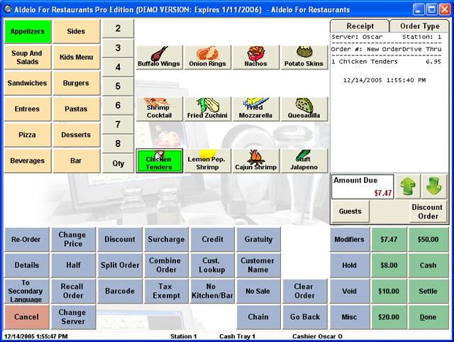 Aldelo For Restaurants Lite Edition Pos Software