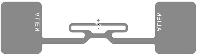 Alien Wonder Dog Inlay RFID Inlay