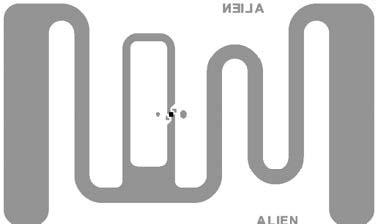 Alien Garment RFID Inlay RFID Tag