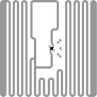 Alien Square RFID Inlay RFID Tag