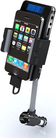 Apple iPhone Compatible FM Transmitter