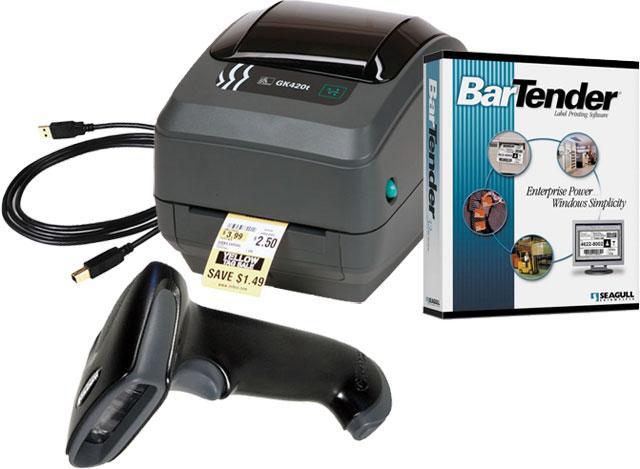 BCI Basic Barcode Printing Bundle