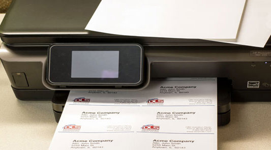 BCI Laser Printer Label Sheets