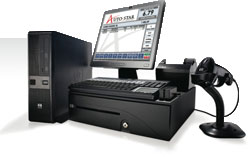 BCI Retailer In-a-Box Auto-Star Edition POS System
