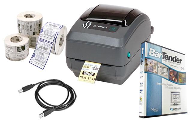 BCI Shipping Label Printing Kit