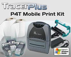 BCI ZEB-P4T-TP-WM Thermal Transfer Label Printing Kit