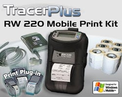 BCI ZEB-RW220-TP-WM Mobile Label/Receipt Printing Kit