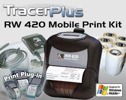 BCI ZEB-RW420-TP-WM Mobile Label/Receipt Printing Kit