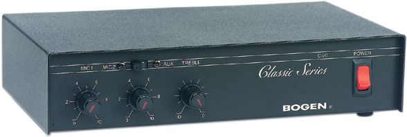Bogen C20 Amplifier