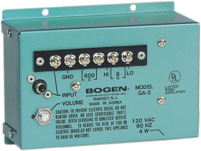 Bogen GA2 Amplifier