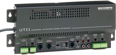 Bogen UTI1 Single-Zone Telephone Interface
