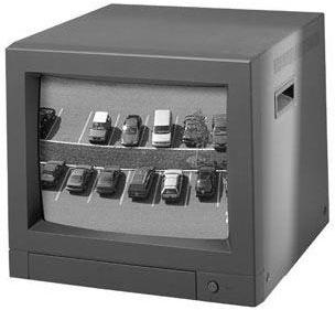Bosch LTC 2813/90 CCTV Security Monitor