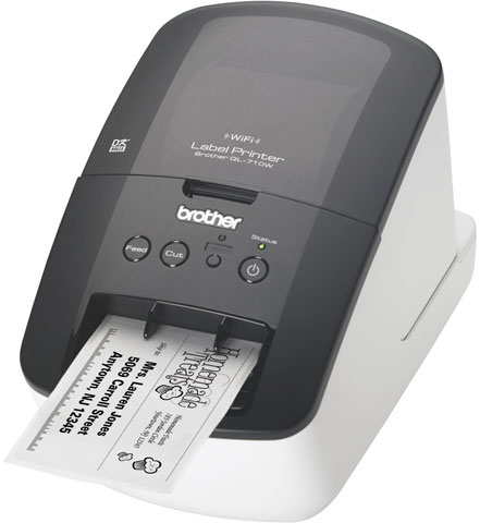 Brother QL-710W Barcode Printer - Best Price Available Online - Save Now
