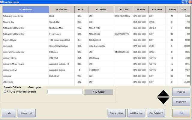 CAP Software Cash n Carry POS Software