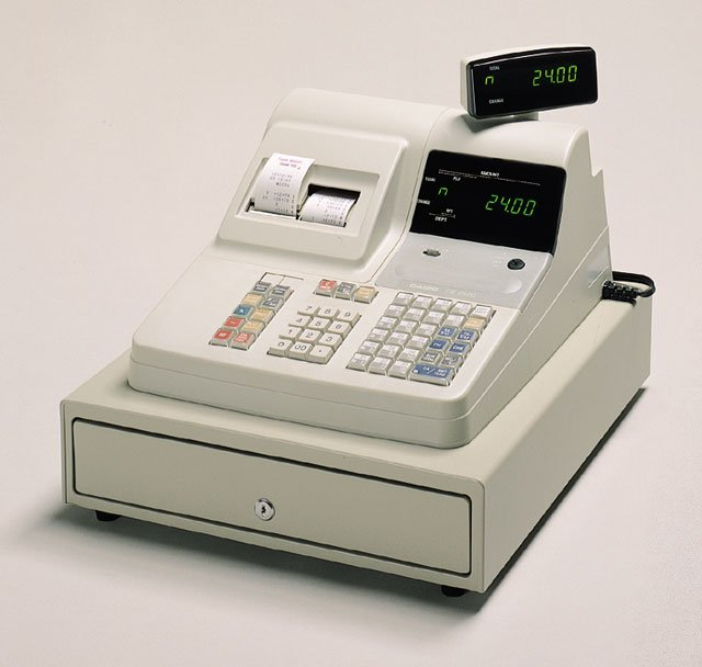 Casio Ce 2400 Cash Register Same Day Shipping Low
