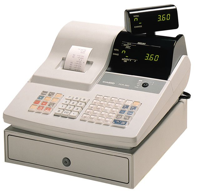 Casio Pcr 360 Cash Register Best Price Available Online