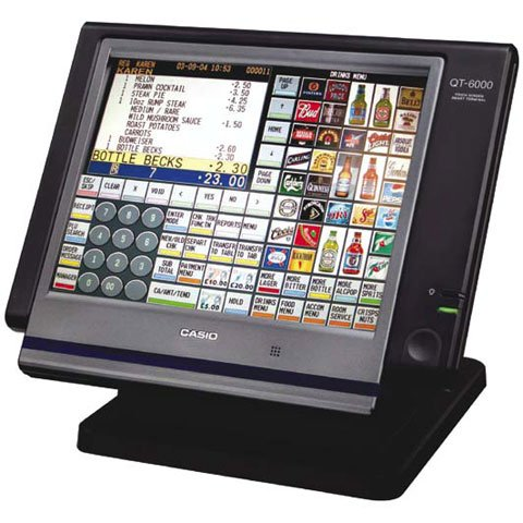 Casio Qt 6000 Pos Terminal Same Day Shipping Low Prices
