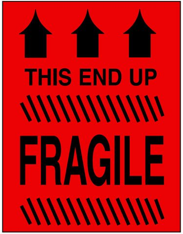 Caution Fragile This End Up Label Best Price Available