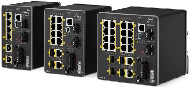 Cisco Industrial Ethernet 2000 Series Switches Same Day
