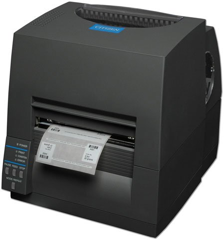 Citizen CL-S631 Barcode Label Printer: CL-S631-E-GRY