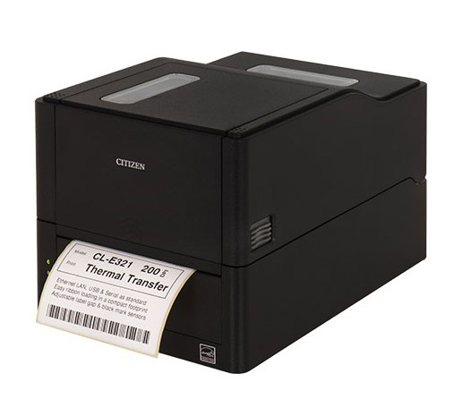 Citizen CL-E321 Barcode Label Printer: CL-E321XUBNNA