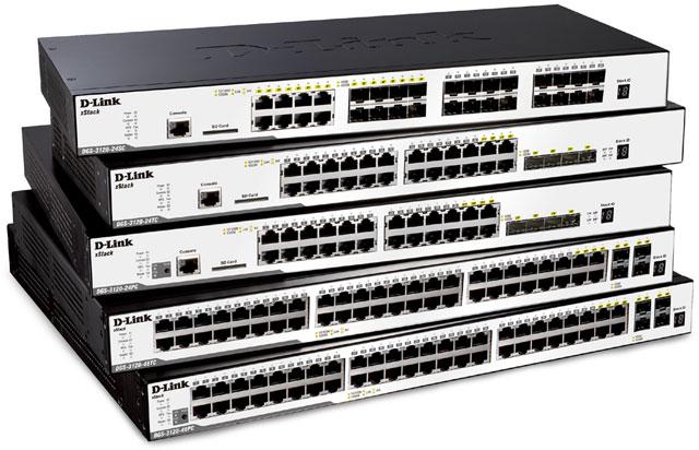 D-Link DGS-3120 xStack Series