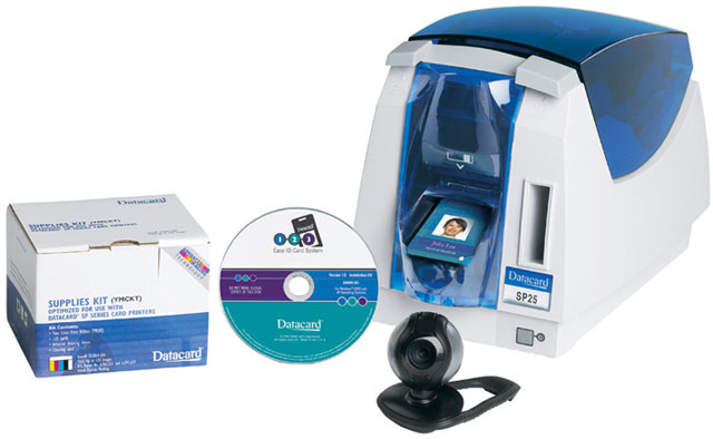 Datacard 123 Easy ID ID Card Printer System