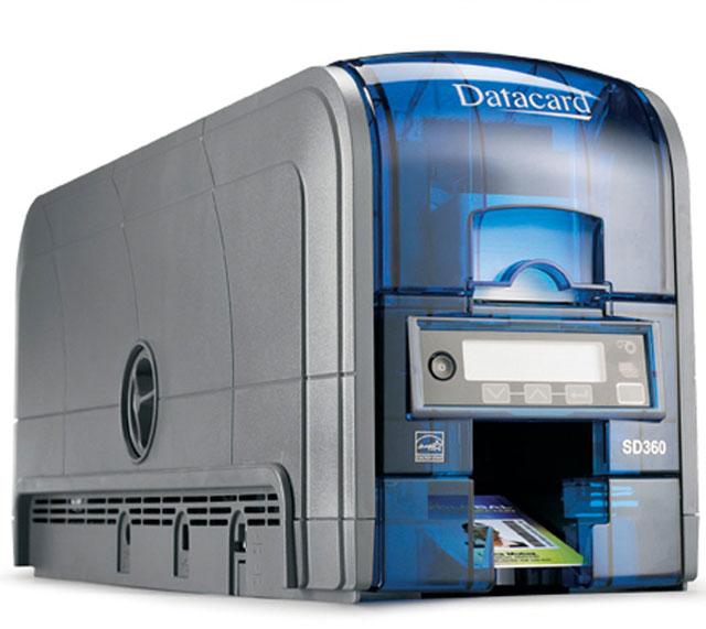 Datacard SD360 ID Card Printer: DAT506909-001