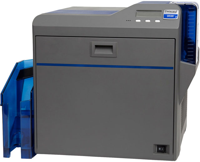 Datacard SR300 ID Card Printer: 534718-033