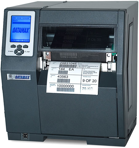 Datamax O Neil H-6210 Barcode Label Printer: C82-00-48000004