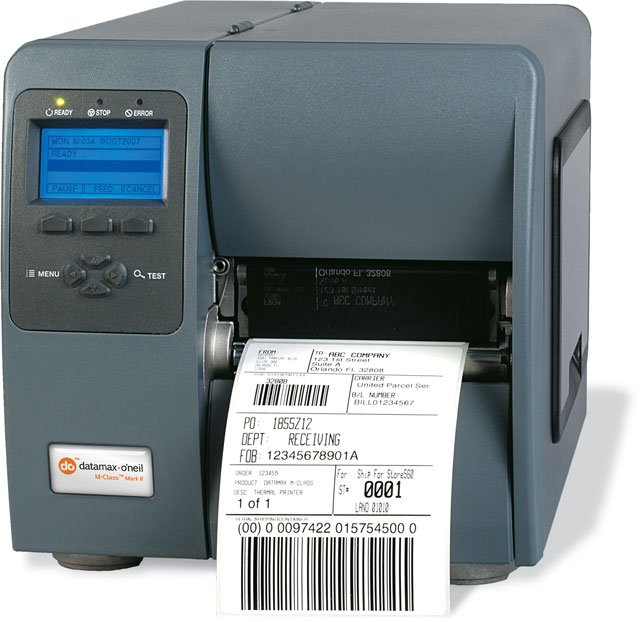 Datamax O Neil I-4212E Barcode Label Printer: I12-00-08900007
