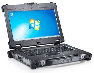 Dell Latitude E6420 XFR Rugged Laptop Computer