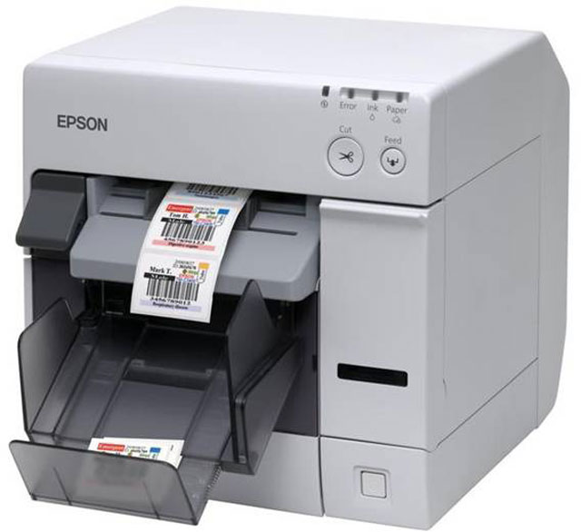 Epson ColorWorks TM-C3500 SecurColor Barcode Label Printer: C31CD54011