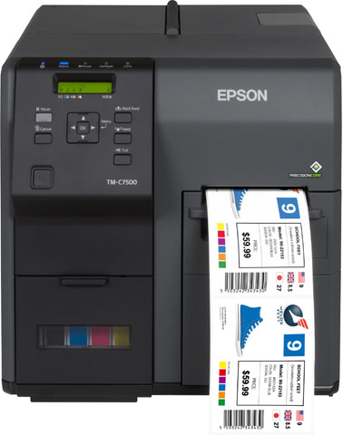 Epson ColorWorks C7500 Barcode Label Printer: C31CD84011