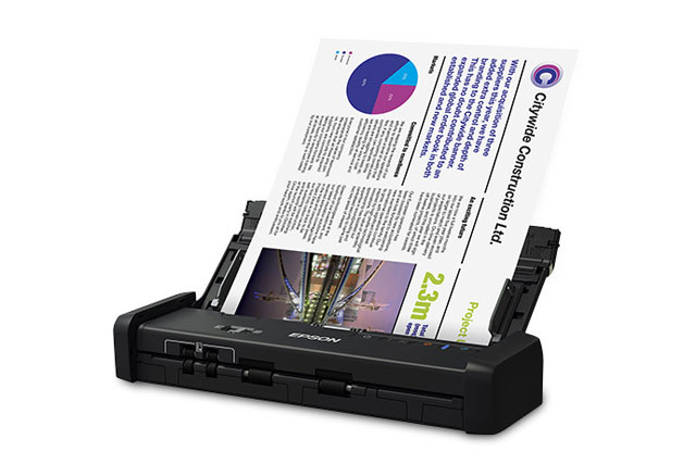Epson DS-320 Portable Document Scanner - Best Price Available Online