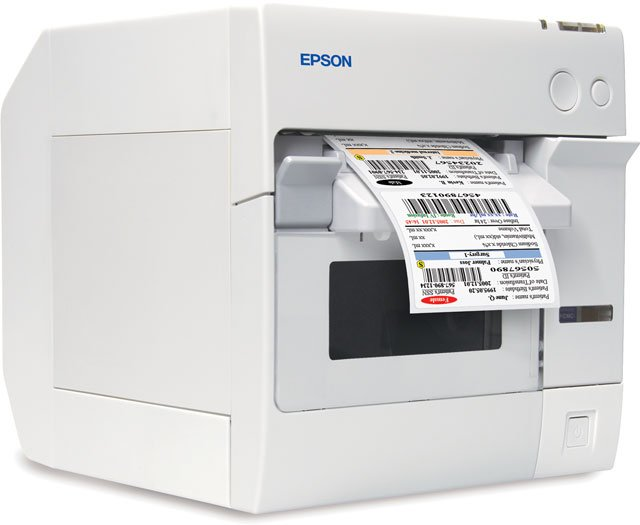 Epson TM-C3400 SecurColor Color Label Printer