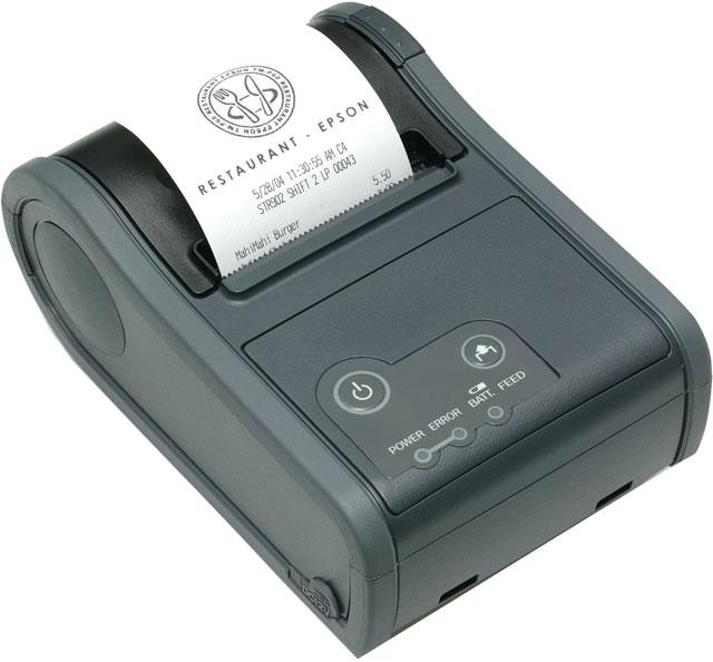 Epson TM-P60 Mobile Thermal Printer Wireless 802.11