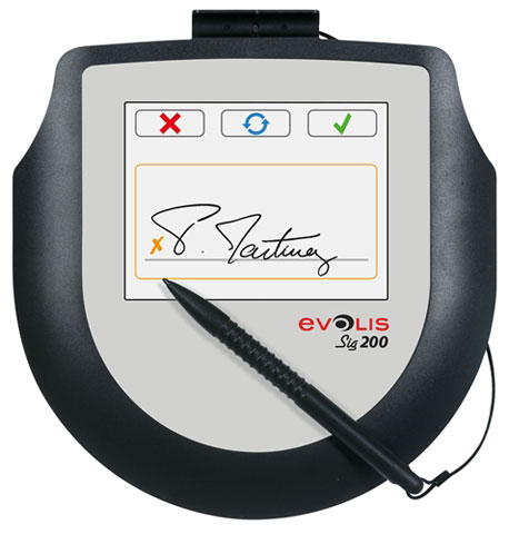 Evolis Sig200 Signature Capture Pad