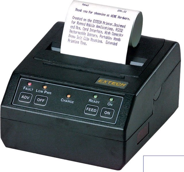 Extech S2000i Portable Printer