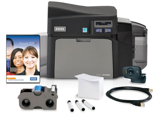 Fargo DTC4250e Printer System ID Card Printer System: 52602