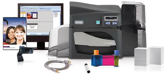 Fargo DTC4500e Printer System ID Card Printer System: 55600